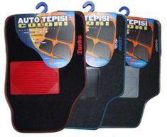 Tech+ avtomobilska preproga Colori, tekstil, UNI, črna/modra