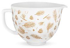 KitchenAid Pine and Berries keramička zdjela, 4,7 l