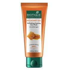Biotique Bio čistiaci gél s medom - 100 ml
