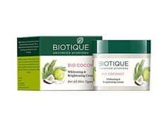 Biotique Rozjasňujúci kokosový krém- 50 g