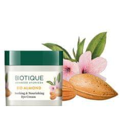 Biotique Očný krém s mandľovým olejom - 15 g