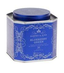 Harney & Sons Harney & Sons Zelený čaj s Borůvkami kolekce Royal 30 x 2,5 g sáčků