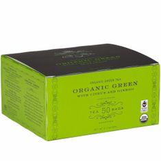 Harney & Sons BIO Zelený s Citrusem & Ginkgem 50 x 2,5 g papírových sáčků