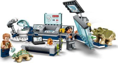 LEGO Jurassic World 75939 Laboratórium Dr. Wu: Dinoszaurusz kölykök menekülése