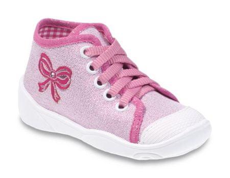 Befado tenisówki dziewczęce Maxi 218P047 18 różowe