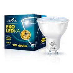 ETA LED žarulja, GU10, 7 W, toplo bijela