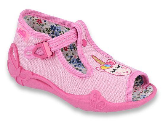 Befado Dievčenské sandáliky Papi 213P115 18 ružová