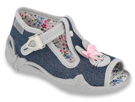 Befado 213P119 Papi sandale za djevojčice, tamno plave, 18