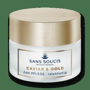 Sans Soucis CAVIAR & GOLD - extra výživný - 24h péče