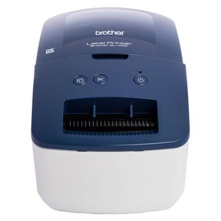 Brother QL-600B tiskalnik nalepk
