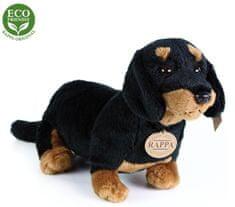 Rappa Plyšový pes jazvečík sediaci, 30 cm, ECO-FRIENDLY