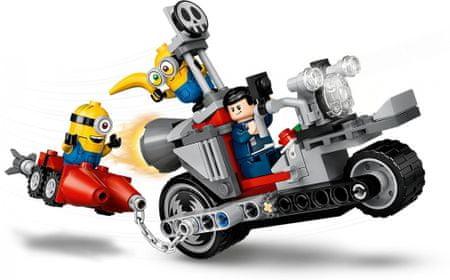 LEGO Minions 75549 Megállíthatatlan motoros üldözés