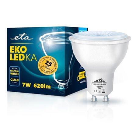 ETA LED žarnica, GU10, 7 W, nevtralno bela
