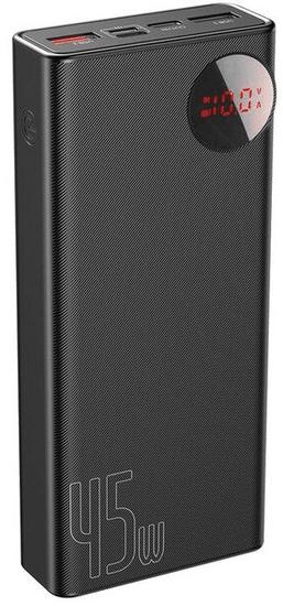 BASEUS Rychlonabíjecí powerbanka s LCD displejem 20 000 mAh, 45W PPMY-A01