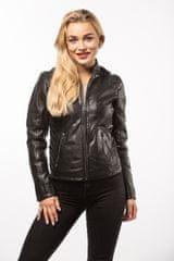Gipsy Černá dámská kožená bunda SASHI