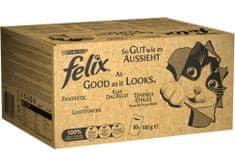 Felix zestaw karmy dla kotów Fantastic, 80x100 g