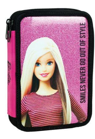 GIM školska dvokatna pernica Barbie Smiles, napunjena