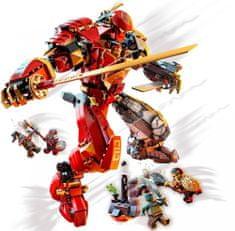LEGO Ninjago 71720 Fire Stone Mech, Vatreni i kameni robot