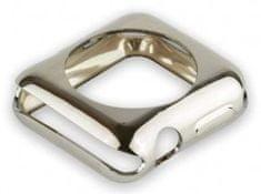 Coteetci COTEetCI termoplastové pouzdro pro Apple Watch 42 mm CS7041-TS, stříbrné