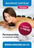 Unika Permanentka na masáže v hodnotě 1700 Kč