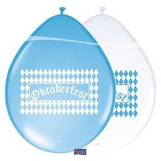 Latexové balóniky - Oktoberfest - 8 ks - 30 cm