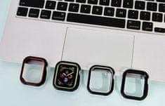 Coteetci COTEetCI pouzdro z polyuretanu a termoplastu pro Apple Watch 44 mm CS7050-BK, matné