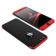 GKK 360 Full Body műanyag tok iPhone 7/8, fekete/piros