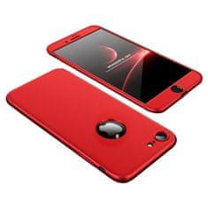 GKK 360 Full Body plastové pouzdro na iPhone 7/8/SE 2020, červené