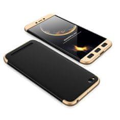 GKK 360 Full Body műanyag tok Xiaomi Redmi 5A, fekete/arany