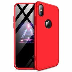GKK 360 Full body műanyag tok iPhone XR, piros