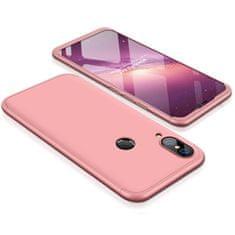 GKK 360 Full Body plastové pouzdro na Huawei P20 Lite, růžové