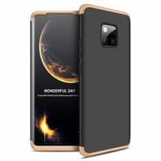 GKK 360 Full Body műanyag tok Huawei Mate 20 Pro, fekete/arany