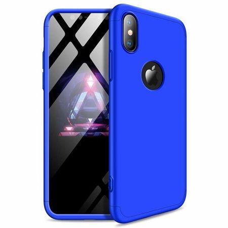 GKK 360 Full Body műanyag tok iPhone XR, kék