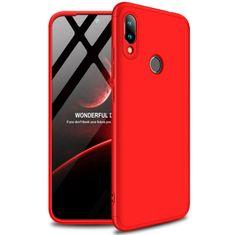 GKK 360 Full Body műanyag tok Xiaomi Redmi 7, piros