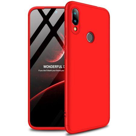 GKK 360 Full Body plastika ovitek za Xiaomi Redmi 7, rdeča