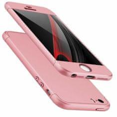 GKK 360 Full Body műanyag tok iPhone 5/5s/SE, rózsaszín