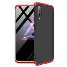 GKK 360 Full Body plastové púzdro na Samsung Galaxy A70, čierne/červené
