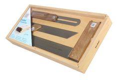 Hedue Tesařské nářadí v dřevěné krabici (A033)