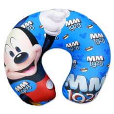 """SETINO Fiú utazópárna """"Mickey egér""""- 28x34cm - kék"""