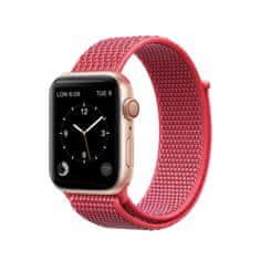 Coteetci sportovní řemínek na suchý zip pro Apple Watch 38 / 40mm