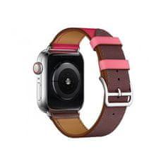 Coteetci kožený řemínek pro Apple Watch 42/44mm (krátký)