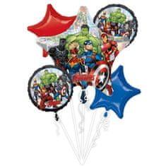 Amscan Fóliové balónky sada 5ks Avengers
