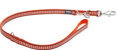 RED DINGO Reflexné prepínacie vodítko Red Dingo oranžové