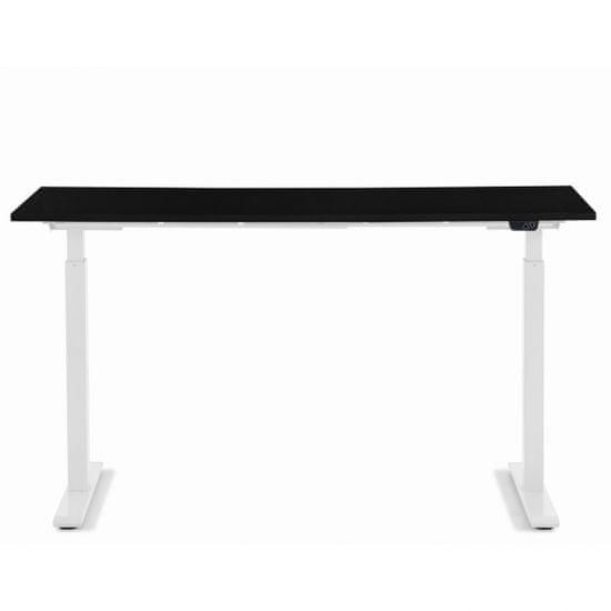 KARE Pracovní stůl Office Smart - bílý, černý, 140x60