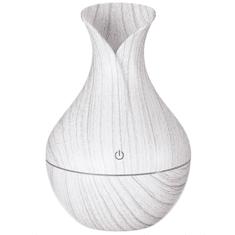 SIXTOL Aroma difuzer Flower bílé dřevo 130ml
