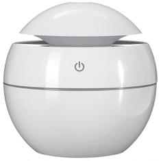 SIXTOL Aroma difuzer Ball bílá lesk 130ml
