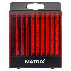 Matrix 10-dijelni komplet listova za ubodnu pilu (130110020)