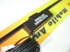 Golm Elektronska antena za staklo, 35 cm, kable 20 cm