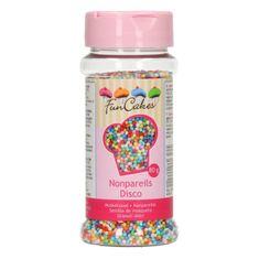 Barevné cukrové perličky 80g