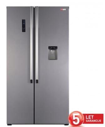 VOX electronics SBS 6005 IX ameriški hladilnik